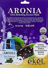 Düfte, Parfümerie und Kosmetik Feuchtigkeitsspendende Tuchmaske für das Gesicht mit Apfelbeerextrakt - Ekel Aronia Ultra Hydrating Essence Mask