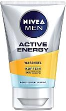 Düfte, Parfümerie und Kosmetik Gesichtswaschgel mit Koffein für Männer - Nivea Men Active Energy Caffeine Face Wash Gel