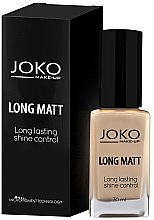 Düfte, Parfümerie und Kosmetik Foundation - Joko Long Matt