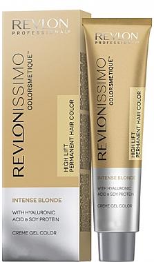 Creme-Gel Haarfarbe für intensiv blonde Nuancen - Revlon Professional Revlonissimo Colorsmetique Intense Blonde