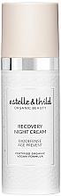 Düfte, Parfümerie und Kosmetik Regenerierende Anti-Aging Nachtcreme - Estelle & Thild BioDefense Instant Recovery Night Cream