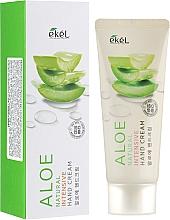 Düfte, Parfümerie und Kosmetik Intensive Handcreme mit Aloe-Extrakt - Ekel Natural Intensive Aloe Hand Cream