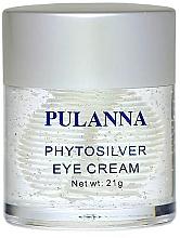 Düfte, Parfümerie und Kosmetik Augencreme mit Schachtelhalm-Extrakt und Nachtkerze - Pulanna Phytosilver Eye Cream