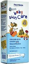 Düfte, Parfümerie und Kosmetik Wasserfeste Sonnenschutzlotion für Kinder und Babys SPF 25 - Frezyderm Baby Sun Care SPF25