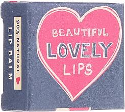 Düfte, Parfümerie und Kosmetik Handgemachter feuchtigkeitsspendender Lippenbalsam mit Rot-Beeren-Geschmack - Bath House Beautiful Lovely Lips Red Berry Lip Balm