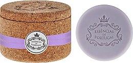 Düfte, Parfümerie und Kosmetik Glycerinseife mit Lavendel- und reinem Olivenöl in Schmuck-Box 2 St. - Essencias De Portugal Tradition Jewel-Keeper Lavender (2x50g)