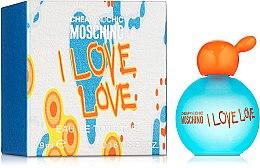 Düfte, Parfümerie und Kosmetik Moschino I Love Love - Eau de Toilette (Mini)