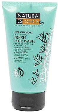 Gesichtswaschgel für empfindliche und Mischhaut mit Islandmoos - Natura Estonica Iceland Moss Face Wash