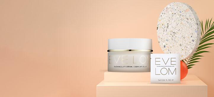 Sichern Sie sich eine Probe Gesichtsreinigungsbalsam beim Kauf von einem Produkt der Marke Eve Lom