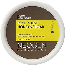 Düfte, Parfümerie und Kosmetik Feuchtigkeitsspendendes aufhellendes und revitalisierendes Gesichtspeeling mit Honig und Zucker - Neogen Dermalogy Real Polish Honey & Sugar