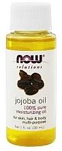 Düfte, Parfümerie und Kosmetik 100% Reines feuchtigkeitsspendendes Jojobaöl für Körper, Gesicht und Haar - Now Foods Solutions Jojoba Oil