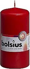 Düfte, Parfümerie und Kosmetik Stumpenkerze rot - Bolsius Candle 120mm x Ø58mm