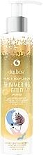 Düfte, Parfümerie und Kosmetik Hand- und Körperlotion mit Shimmer - Kabos Shimmering Gold Hand & Body Lotion