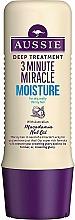 Düfte, Parfümerie und Kosmetik Feuchtigkeitsspendende Haarspülung mit australischem Macadamianussöl - Aussie 3 Minute Miracle Moisture Deep Treatment