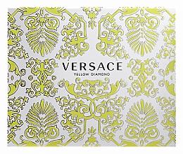 Düfte, Parfümerie und Kosmetik Versace Yellow Diamond - Duftset (Eau de Toilette 50ml + Körperlotion 50ml + Duschgel 50ml)
