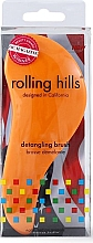 Düfte, Parfümerie und Kosmetik Entwirrbürste orange - Rolling Hills Detangling Brush Travel Size Orange
