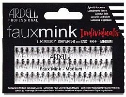 Düfte, Parfümerie und Kosmetik Wimpernbüschel-Set - Ardell Faux Mink Individuals Knot Free Medium Black