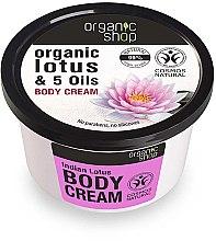 Düfte, Parfümerie und Kosmetik Körpercreme mit Lotosblume und 5 Ölen - Organic Shop Body Cream Organic Lotus & Oils
