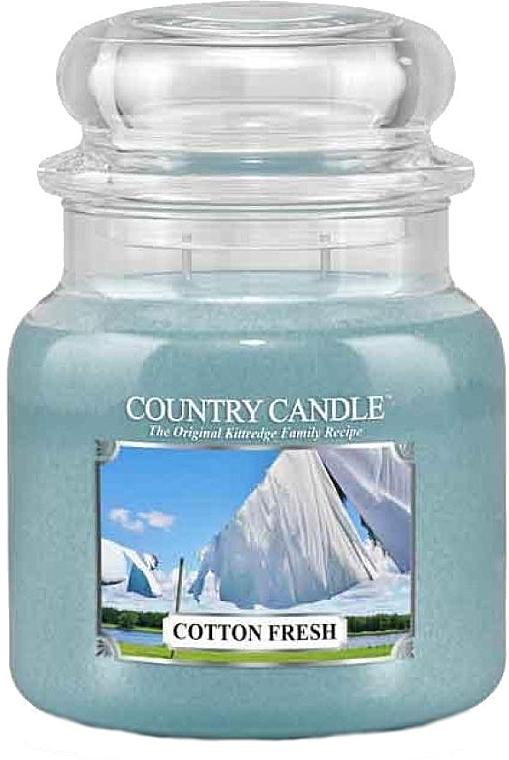 Duftkerze im Glas Cotton Fresh - Country Candle Cotton Fresh