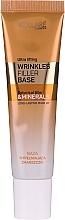 Düfte, Parfümerie und Kosmetik Glättende und verjüngende Make-up Base mit Mineralien gegen Falten und Mimikfalten - Vollare Cosmetics Wrinkles Filler Base