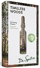 Düfte, Parfümerie und Kosmetik Straffende Gesichtsampullen Timeless Woods - Dr. Spiller Strength Timeless Woods