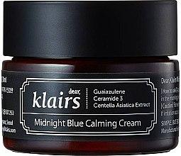 Düfte, Parfümerie und Kosmetik Feuchtigkeitsspendende und beruhigende Gesichtscreme - Klairs Midnight Blue Calming Cream