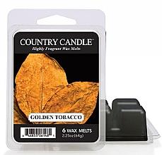 Düfte, Parfümerie und Kosmetik Tart-Duftwachs Golden Tobacco - Country Candle Golden Tobacco Mini Wax Melts