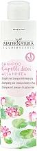 Düfte, Parfümerie und Kosmetik Shampoo für glattes Haar mit Seerose - MaterNatura Water Lily Shampoo