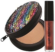 Düfte, Parfümerie und Kosmetik Make-up Set - NoUBA Sunlike Natural Tan №1 (Gesichtspuder 15g + Lipgloss 6ml)