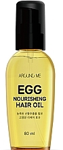Düfte, Parfümerie und Kosmetik Pflegendes Haaröl - Welcos Around Me Egg Nourishing Hair Oil