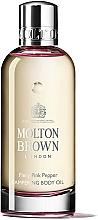 Düfte, Parfümerie und Kosmetik Pflegendes Körperöl mit rosa Pfeffer und Arganöl - Molton Brown Fiery Pink Pepper Pampering Body Oil