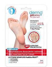 Düfte, Parfümerie und Kosmetik Enzym Peeling Maske für Füße - Dermo Pharma Skin Repair Expert S.O.S. Exfoliating & Cell Recovery Foot Mask