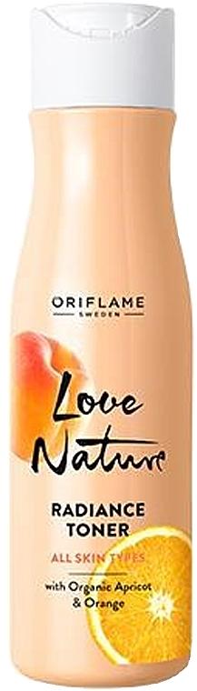Gesichtstonikum für mehr Glanz mit Bio-Aprikose und Orange - Oriflame Love Nature Radiance Toner