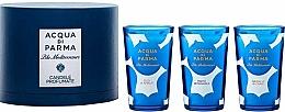 Düfte, Parfümerie und Kosmetik Acqua di Parma Blu Mediterraneo - Duftkerzen-Set (Duftkerze 3x65g)