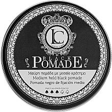 Düfte, Parfümerie und Kosmetik Schwarze modellierende Haarpomade - Lavish Care Black Pomade Medium Hold Black