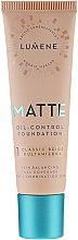 Düfte, Parfümerie und Kosmetik Mattierende Foundation - Lumene Matte Oil-control Foundation