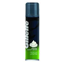 """Düfte, Parfümerie und Kosmetik Rasierschaum """"Lemon"""" - Gillette Classic Lemon Lime Shave Foam for Men"""