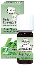 Düfte, Parfümerie und Kosmetik Bio-ätherisches Öl aus tropischem Basilikum - Galeo Organic Essential Oil Basilic Tropical