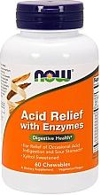 Düfte, Parfümerie und Kosmetik Nahrungsergänzungsmittel Säureentlastung mit Enzymen - Now Foods Acid Relief With Enzymes