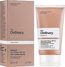 Düfte, Parfümerie und Kosmetik Mineralische Sonnenschutzcreme für das Gesicht mit Antioxidantien SPF 30 - The Ordinary Suncare Mineral UV Filters SPF30 Antioxidants