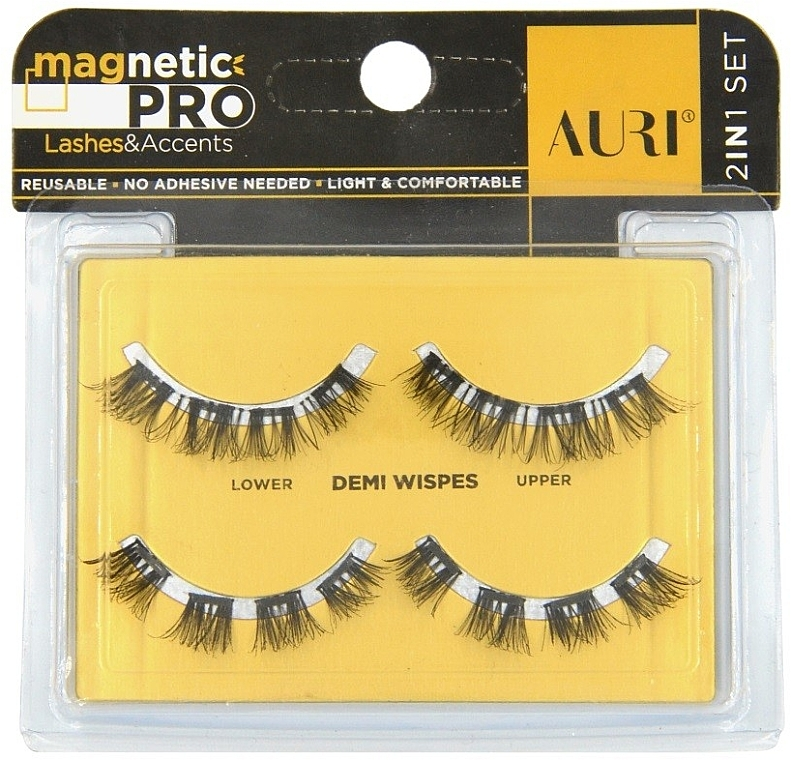 Magnetische Wimpern - Auri Magnetic Pro Demi Wispies