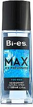 Düfte, Parfümerie und Kosmetik Bi-Es Max - Parfümiertes Körperspray