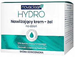 Düfte, Parfümerie und Kosmetik Feuchtigkeitsspendendes Tagescreme-Gel mit 10% Hyaluronsäure und Vitamin E - Novaclear Hydro Day Cream