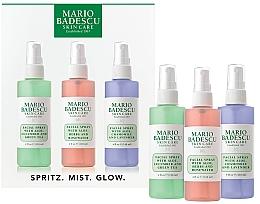 Düfte, Parfümerie und Kosmetik Gesichtspflegeset - Mario Badescu Combo Dry Regimen Kit (Spray für das Gesicht 3x118ml)