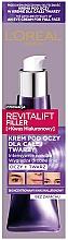 Düfte, Parfümerie und Kosmetik Augen- und Gesichtscreme ohne Geruch - L'Oreal Paris Revitalift Filler Eye Cream For Face
