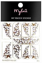 Düfte, Parfümerie und Kosmetik Nagelaufkleber 5 - MylaQ My Water Sticker