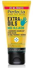 Düfte, Parfümerie und Kosmetik Cremeöl für Hände, Nägel und Nagelhaut - Perfecta Extra Oils Hand Cream