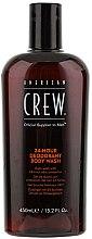 Düfte, Parfümerie und Kosmetik Duschgel mit 24 Stunden Schutz vor Körpergeruch - American Crew Classic 24-Hour Deodorant Body Wash