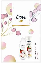 Düfte, Parfümerie und Kosmetik Körperpflegeset - Dove Relaxing Care (Duschgel 250ml + Körperlotion 250ml)