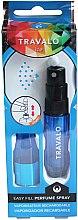 Düfte, Parfümerie und Kosmetik Parfumzerstäuber - Travalo Ice Blue Perfume Atomiser